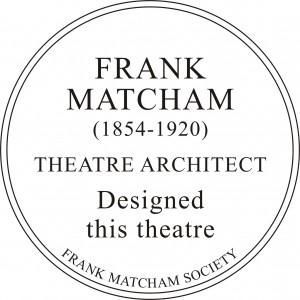 Frank Matcham Society Plaques