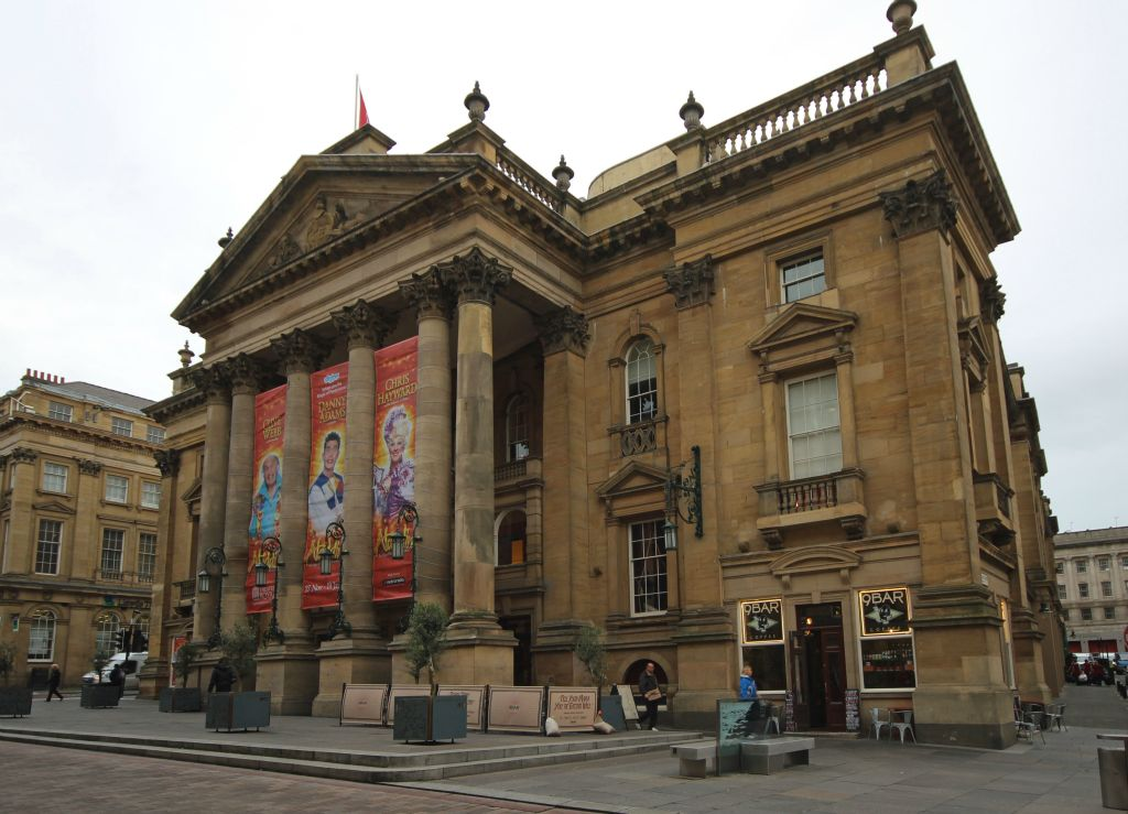 Theatre Royal Newcastle 1901 The Theatres Classical Exterior By John And Benjamin Green 1837 Is A Landmark In Grey Street One Of Finest Its